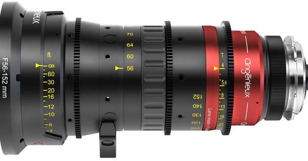 Angenieux Anamorphic 56-152mm T4 Zoom Lens