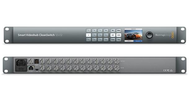 Blackmagic Design Smart Videohub Cleanswitch 12x12 Router