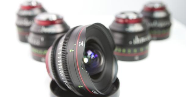Canon CN-E T1.3-3.1 EF Cine Prime Lens