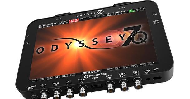 Convergent Design Odyssey7Q+ Monitor:Recorder